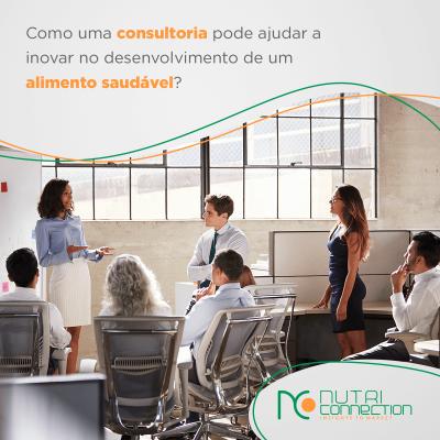 Como uma consultoria pode me ajudar a inovar no mercado de alimentação saudável?