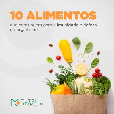 10 alimentos para reforçar a imunidade